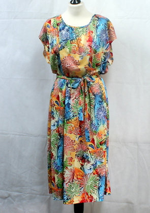 Robe multicolore 80's