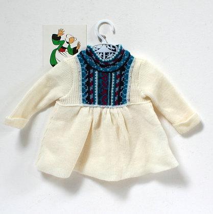 Robe en lainage vintage