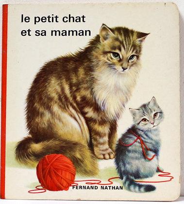 Le petit chat et sa maman