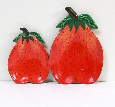 """2 coupelles """"fraises"""""""