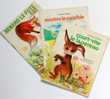 3 livres collection Premiers pas