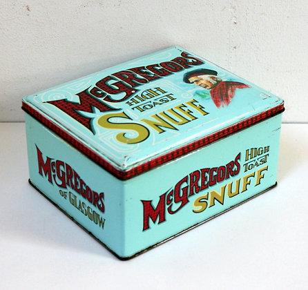 Ancienne boîte métal McGregors