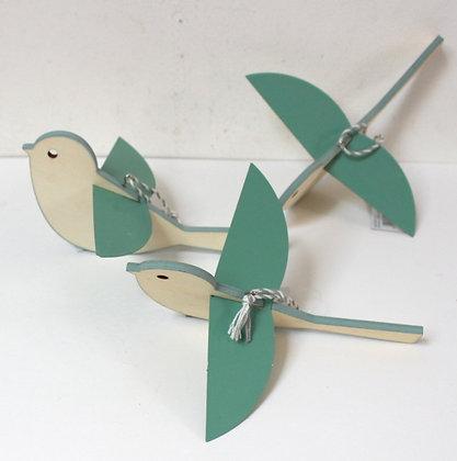 Oiseau déco à suspendre
