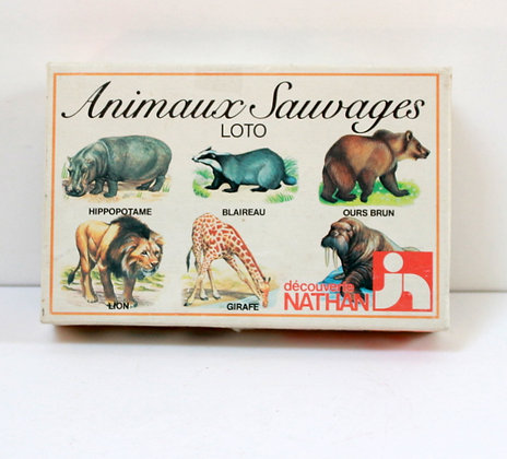 Loto Animaux sauvages