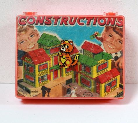 Jeu de construction vintage