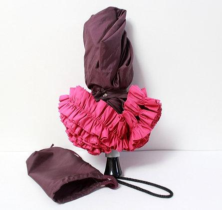 Parapluie à froufrou