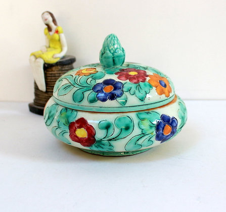 Boîte à bijoux en céramique