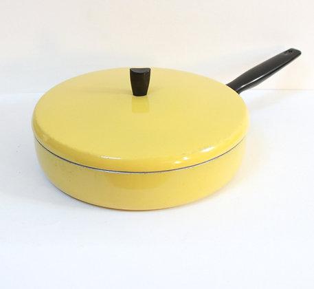 Sauteuse jaune 1950