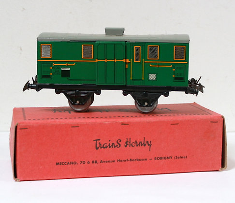Fourgon n° 1-S - Hornby / Meccano