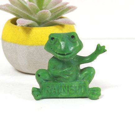 Figurine grenouille Rainett
