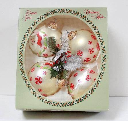 Boules de Noël rétro