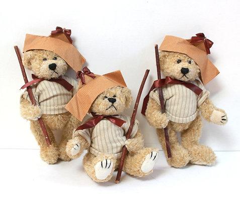 3 ours déco