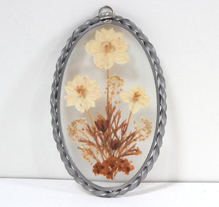 Petit cadre aux fleurs séchées