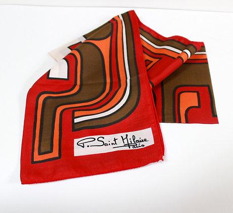 Foulard vintage Saint Hilaire