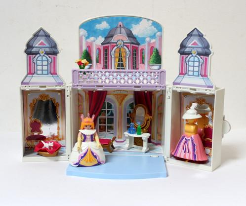 Playmobil chambre de princesse transportable | La Mère Lipopette ...