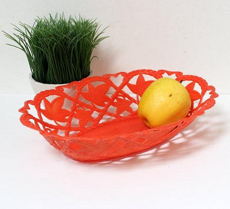 Corbeille à fruits orange