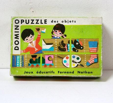 Domino puzzle des objets