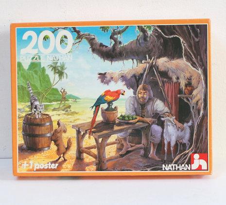 Puzzle Robinson Crusoé