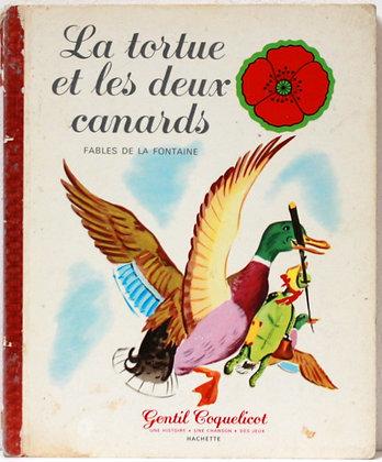 La tortue et les deux canards - Fables de La Fontaine