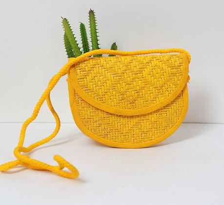 Mini sac jaune