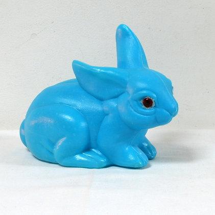 Tirelire lapin bleu
