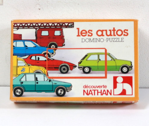 Domino-puzzle Les autos