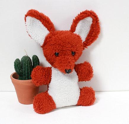 Doudou renard grelot