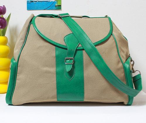 Grand sac de voyage rétro