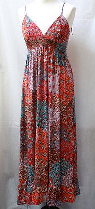 Robe longue bohème folk