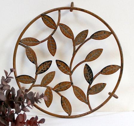 Dessous de plat décor feuilles