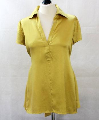 Top blouse en soie