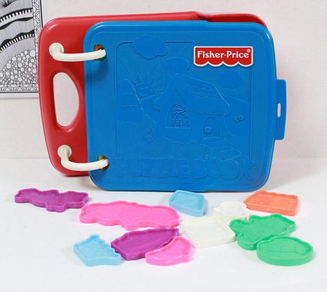 Puzzle-Book Fisher Price