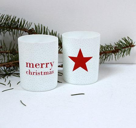 Photophores Merry Chrismas