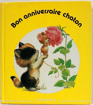 Bon anniversaire chaton