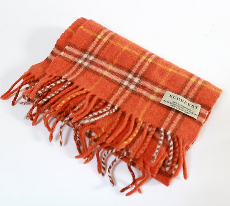 Echarpe Burberry vintage orange