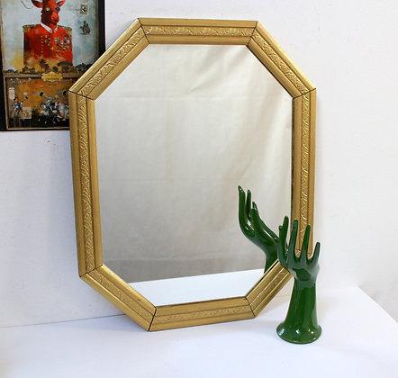 Miroir Art Déco cadre doré