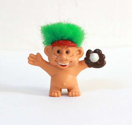 Figurine troll baseball embout de crayon