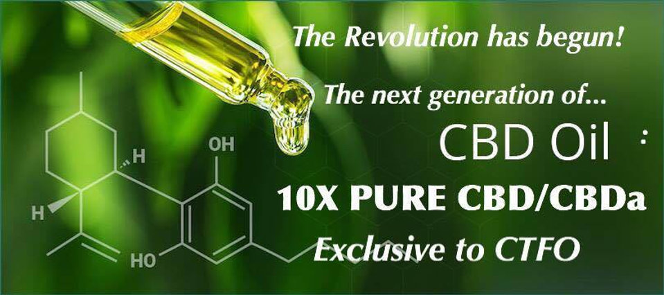 Pure CBD CBDA oil