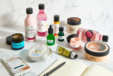 The Body Shop at home products