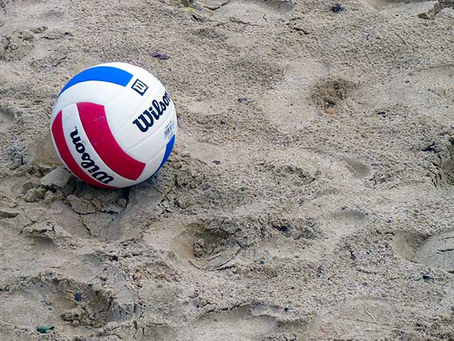 Spring Sand Volleyball