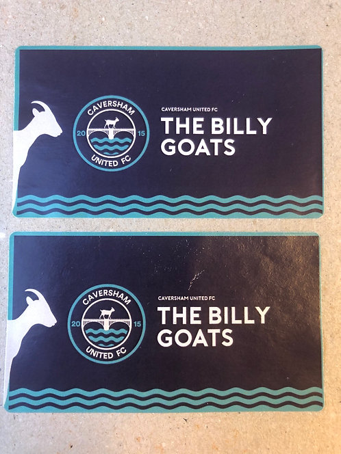 2 'The Billy Goats' Stickers