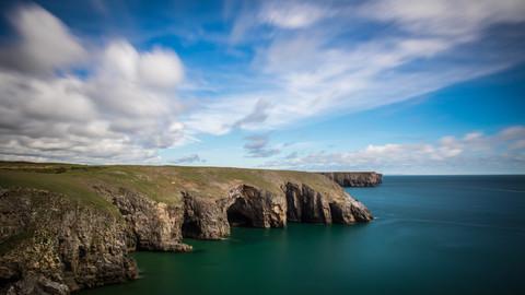 Küste, Wales, Pembrokeshire, Wanderung, Landschaft, Coast, Pembrokeshire