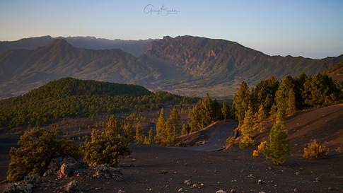 La Palma Caldera Vulkan Insel