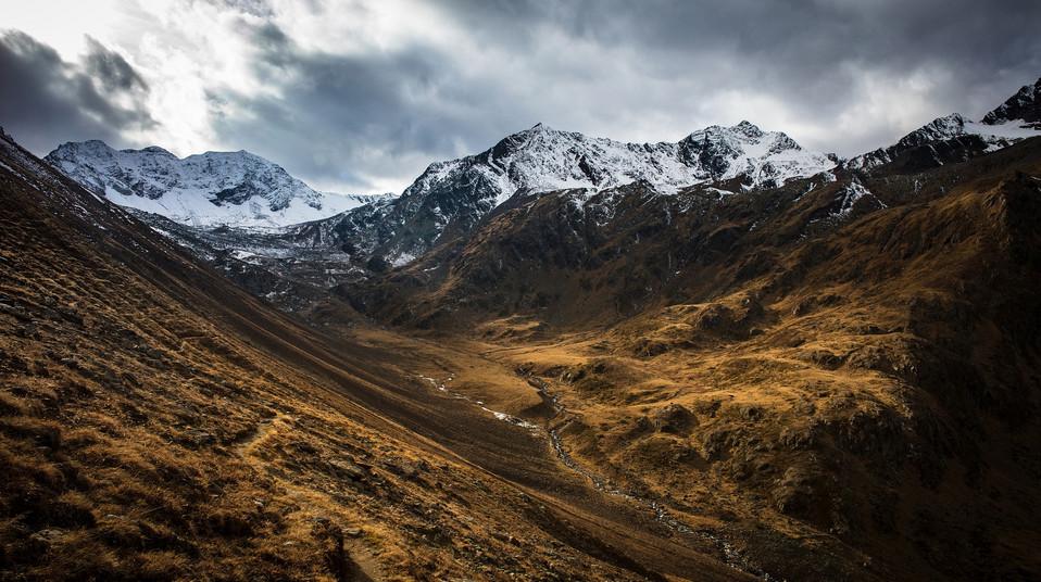 Tirol, Pitztal, Landschaftsfoto, Österreich