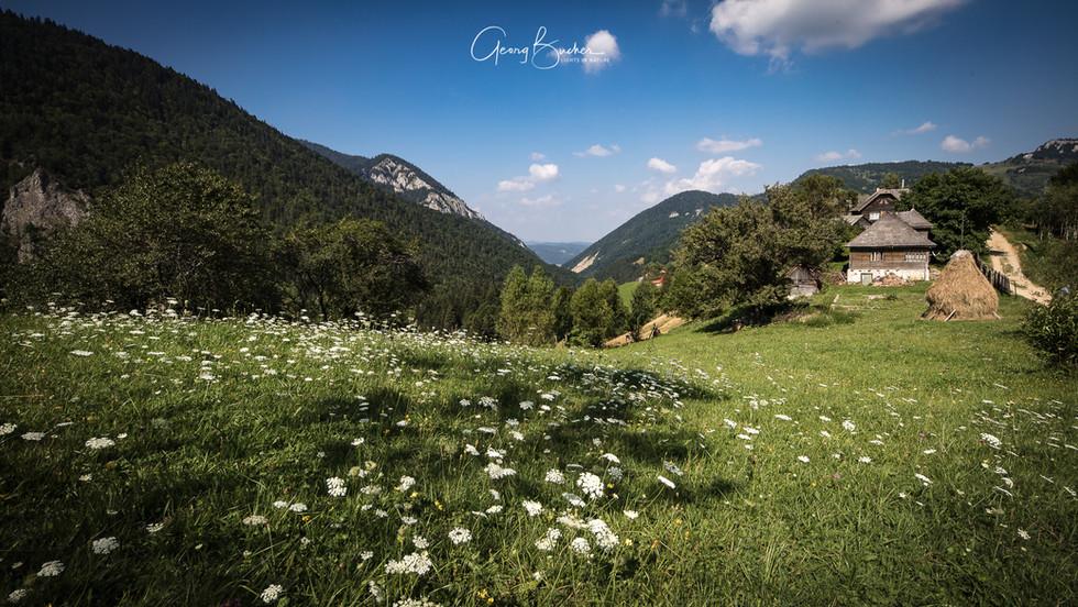 Landschaft Rumäniens