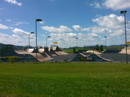 Skateboarders and BMX riders: My trip to Camp Woodward, PA to talk performance nutrition
