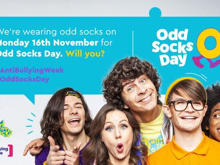 MONDAY 16TH NOVEMBER IS ODD SOCKS DAY!