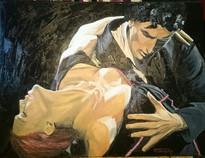"""Dancer 2, 18x24"""", Oil, $800.CAD"""