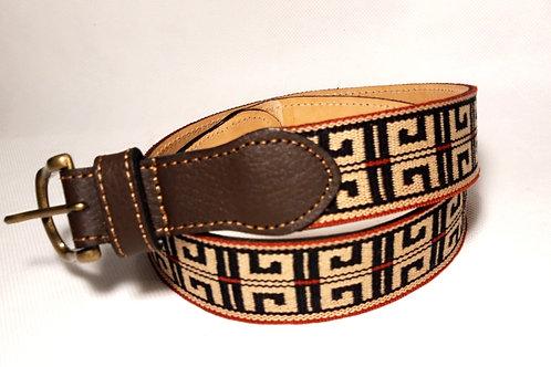 """Pampa "" leather belt . CIN 24."