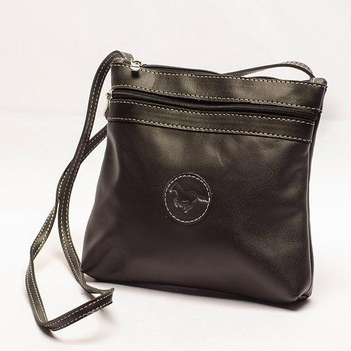 """Big """"Black""""Crossbody bag. MORR 09."""